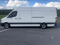 USED 2015 MERCEDES-BENZ SPRINTER 2.1 313 CDI LWB 129 BHP FULL DOCUMENTED SERVICE HISTORY, LIGHT USE ONLY