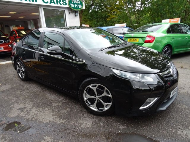 2012 12 VAUXHALL AMPERA 1.4 ELECTRON 5d PLUG-IN HYBRID (PHEV) AUTOMATIC 150 BHP