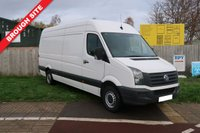 USED 2015 15 VOLKSWAGEN CRAFTER 2.0 CR35 TDI H/R P/V 1d 135 BHP 1 OWNER,FSH,BLUETOOTH,CRUISE