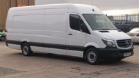 2014 MERCEDES-BENZ SPRINTER 2.1 313 CDI XLWB 1d 129 BHP 1 OWNER F/S/H PRINT OUT / 12 MONTHS WARRANTY COVER // £10990.00