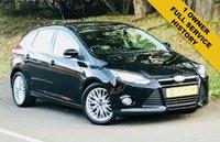 2013 FORD FOCUS 1.6 ZETEC 5d AUTO 124 BHP £6695.00