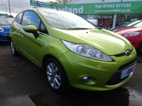USED 2010 10 FORD FIESTA 1.2 ZETEC 3d 81 BHP CALL 01543 877320... 12 MONTHS MOT... 6 MONTHS WARRANTY... JUST ARRIVED