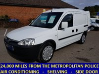 2009 VAUXHALL COMBO ONLY 24,000 MILES FROM THE MET POLICE WITH AIR CON £4495.00