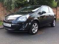 USED 2013 13 VAUXHALL CORSA 1.2 SXI 3d 83 BHP 1 OWNER, FULL SERVICE HISTORY, 1YR MOT,  ALLOYS, SPORTS SEATS, CHROME, DETAILING, E/WINDOWS, R/LOCKING, FREE  WARRANTY, FINANCE AVAILABLE, HPI CLEAR, PART EXCHANGE WELCOME,