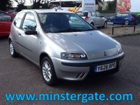 2001 FIAT PUNTO 1.2 16V SPORTING 3d 80 BHP * ONLY 54000 MILES, 2 OWNERS, JUST CAMBELTED * £890.00