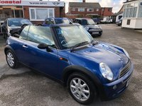 USED 2007 07 MINI CONVERTIBLE 1.6 ONE 2d 89 BHP