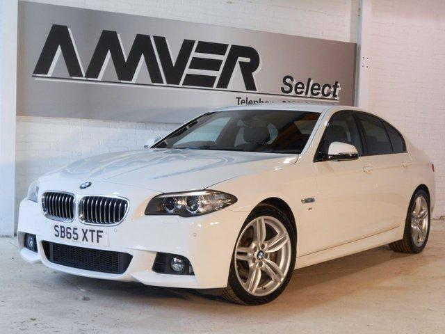 2015 65 BMW 5 SERIES 2.0 520D M SPORT 4d AUTO 188 BHP