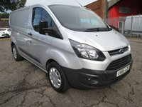 2015 FORD TRANSIT CUSTOM 290 SWB Low roof L1 H1 100 PS *AIR CON* £10750.00