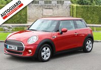 USED 2014 14 MINI HATCH ONE 1.5 ONE D 3d 94 BHP Finance options available
