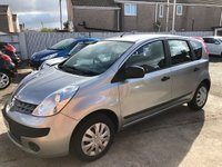 USED 2007 07 NISSAN NOTE 1.4 S 5d 87 BHP