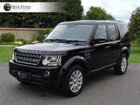 USED 2016 16 LAND ROVER DISCOVERY 4 3.0 SDV6 COMMERCIAL SE 1d AUTO 255 BHP
