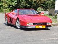 1991 FERRARI TESTAROSSA 4.9 COUPE 2d 390 BHP £135000.00