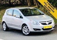 2007 VAUXHALL CORSA 1.4 DESIGN 16V 5d 90 BHP £2695.00