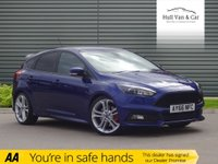 USED 2016 66 FORD FOCUS 2.0 ST-3 5d 247 BHP LOW MILEAGE,NAV, LEATHER, DAB