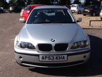 USED 2004 53 BMW 3 SERIES 2.0 320D SE 4d AUTO 148 BHP * 69000 MILES, BMW HISTORY * ONLY 69000 MILES, BMW SERVICE HISTORY