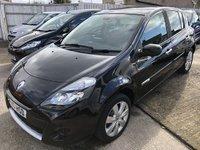 2010 RENAULT CLIO 1.1 PRIVILEGE TOMTOM TCE 5d 100 BHP £3595.00