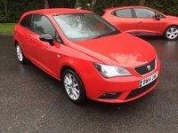 2014 SEAT IBIZA 1.4 TOCA 3d 85 BHP £6500.00