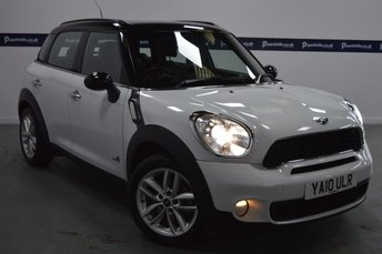 2010 MINI COUNTRYMAN 1.6 COOPER S ALL4 5d 185 BHP £8645.00