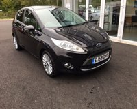 USED 2010 59 FORD FIESTA 1.4 TITANIUM THIS VEHICLE IS AT SITE 1 - TO VIEW CALL US ON 01903 892224