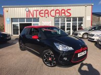 USED 2013 CITROEN DS3 1.6 E-HDI AIRDREAM DSPORT RED 3d 115 BHP