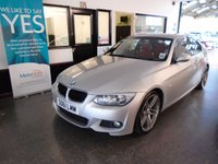 USED 2011 61 BMW 3 SERIES 2.0 320D M SPORT 2d 181 BHP Two owners- BMW & One lady. Full service history, supplied with a service & 12 months Mot. Finished in Silver with Red leather seats.