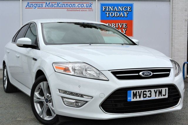 2013 63 FORD MONDEO 2.0 TITANIUM X BUSINESS EDITION TDCI High Spec 5d Family Hatchback