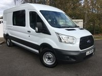 USED 2015 15 FORD TRANSIT 350 RWD 2.2 155BHP L3 H2 MESS UNIT  **70 VANS IN STOCK**