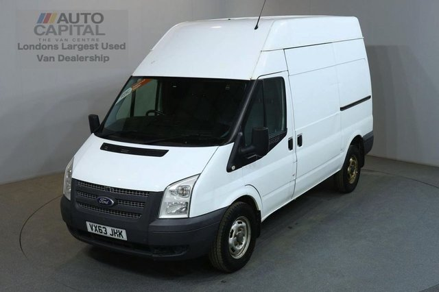 2013 63 FORD TRANSIT 2.2 350 124 BHP MWB AWD ALL WHEEL DRIVE 4X4 PANEL VAN ONE OWNER FULL S/H SPARE KEY