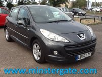 2010 PEUGEOT 207 1.4 MILLESIM 5d 74 BHP * 55000 MILES, LOW INSURANCE * £2990.00
