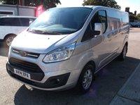 2014 FORD TRANSIT CUSTOM 2.2 290 LIMITED LR P/V 1d 124 BHP £8500.00