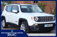 USED 2016 16 JEEP RENEGADE 1.4 LONGITUDE 5d 138 BHP