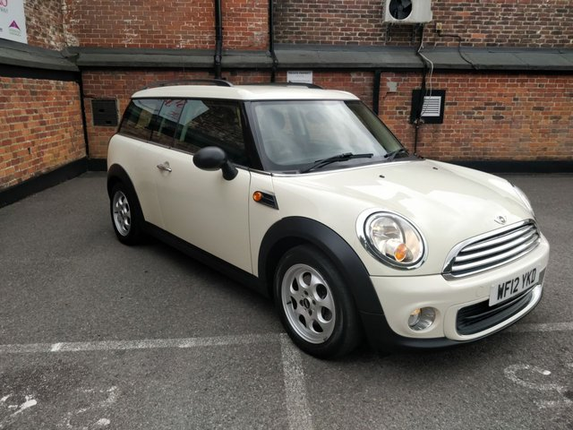 2012 12 MINI CLUBMAN 1.6 ONE 5d 98 BHP