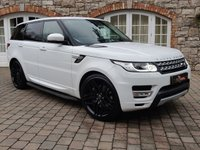 USED 2016 LAND ROVER RANGE ROVER SPORT 3.0 SDV6 HSE 5d AUTO 306 BHP CLIMATE FRONT AND REAR SEATS