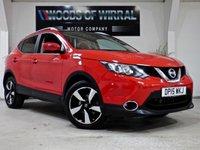 2015 NISSAN QASHQAI 1.6 DCI N-TEC PLUS XTRONIC 5d AUTO 128 BHP £13480.00