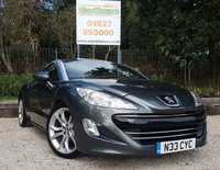 USED 2010 60 PEUGEOT RCZ 1.6 THP GT 2dr AUTO Full Black Leather Heated