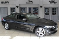 USED 2014 14 BMW 4 SERIES 2.0 420D XDRIVE SE 2d 181 BHP FULL BLACK LEATHER SEATS + FULL BMW SERVICE HISTORY + SATELLITE NAVIGATION + BLUETOOTH + DAB RADIO + XENON HEADLIGHTS + HEATED FRONT SEATS + BLUETOOTH + 18 INCH ALLOYS + CRUISE CONTROL + PARKING SENSORS