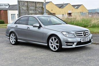 2012 MERCEDES-BENZ C CLASS 2.1 C250 CDI BLUEEFFICIENCY SPORT 4d AUTO 202 BHP £9990.00