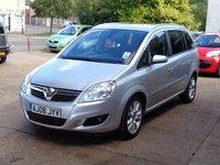 2008 VAUXHALL ZAFIRA 1.9 DESIGN CDTI 16V 5d AUTO 148 BHP £2999.00