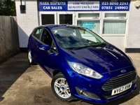 USED 2013 63 FORD FIESTA 1.6 ZETEC 5d AUTO 104 BHP JUST 12,436 MILES FSH RARE AUTOMATIC F/REAR PARKING SENS EXC CONDITION