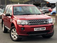 USED 2011 60 LAND ROVER FREELANDER 2.2 TD4 GS 5d 150 BHP *STUNNING IN RIMINI RED*
