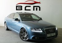 2010 AUDI A6 2.0 TDI S LINE SPECIAL EDITION 4d 168 BHP £7485.00
