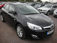 2012 VAUXHALL ASTRA 1.6 ACTIVE 5d 113 BHP £SOLD