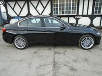 USED 2014 64 BMW 3 SERIES 2.0 320D LUXURY 4d 184 BHP