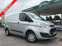 USED 2016 66 FORD TRANSIT CUSTOM 2.2 270 TREND LR P/V 1d 125 BHP One Owner, Low Mileage, Extra Security Lock, Finance In 60 Seconds.