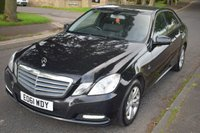 USED 2011 61 MERCEDES-BENZ E CLASS 2.1 E200 CDI BLUEEFFICIENCY SE EDITION 125 4d AUTO 136 BHP SERVICE HISTORY, SATELLITE NAVIGATION, BLUETOOTH, HEATED LEATHER SEATS