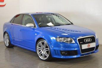2007 AUDI RS4 SALOON 4.2 QUATTRO 4d 420 BHP £20995.00