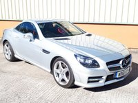 2011 MERCEDES-BENZ SLK 1.8 SLK250 BLUEEFFICIENCY AMG SPORT ED125 2d AUTO 204 BHP £SOLD