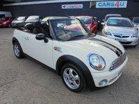 2009 MINI CONVERTIBLE 1.6 COOPER 2d 120 BHP £5890.00