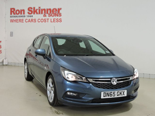 View our 2015 65 VAUXHALL ASTRA (95) 1.4 SRI 5d 148 BHP