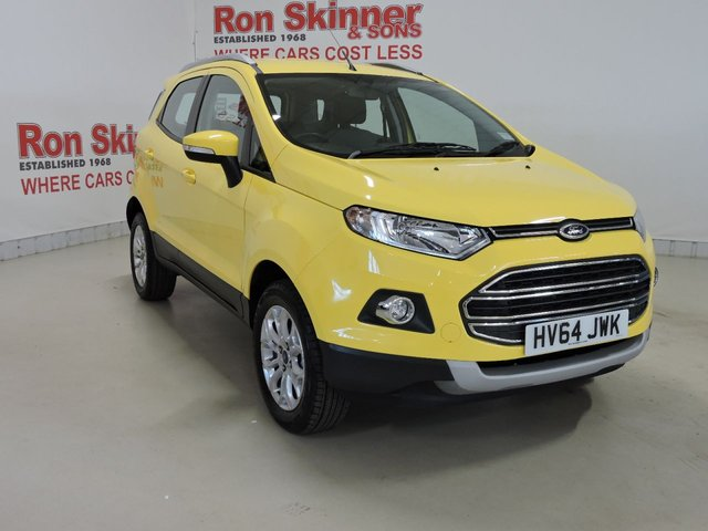 View our 2014 64 FORD ECOSPORT 1.5 TITANIUM 5d 110 BHP